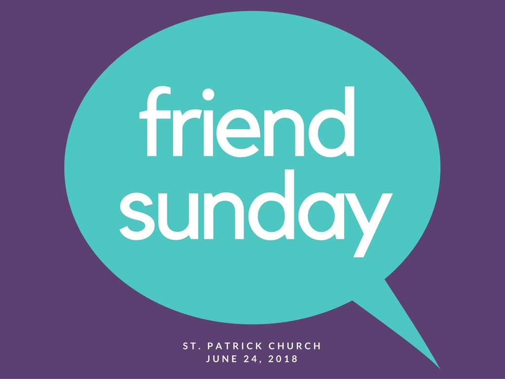 Friend Sunday, Nov. 6 | Venture Church